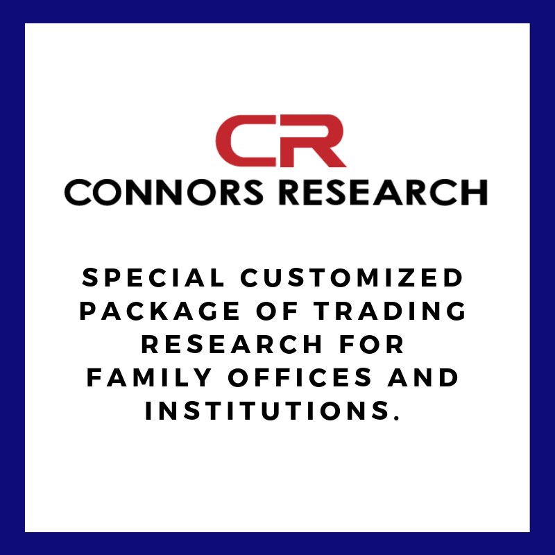 One Year of Customized Trading Research from Connors Research