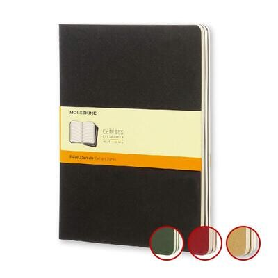 Moleskine Cahier Journals Large X 3