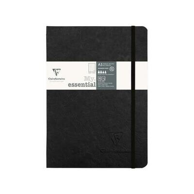 Age Bag My Essential A5 Notebook Dot Black