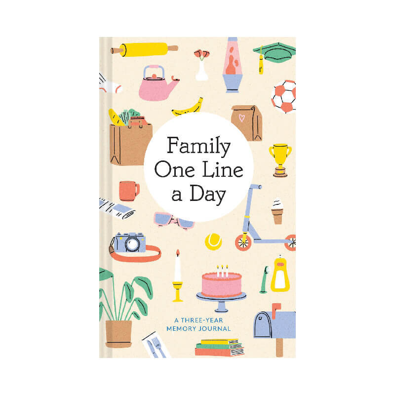 Family One Line A Day Journal