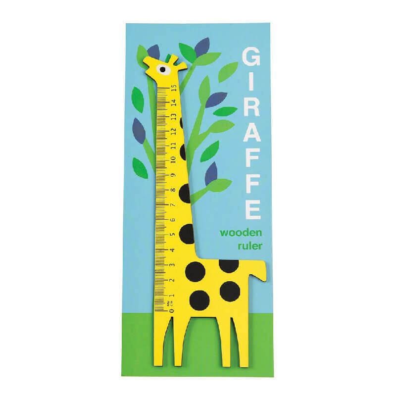 Giraffe Wooden Ruler