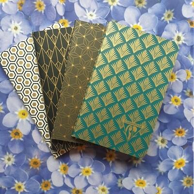 Neo Deco Notebooks x 4