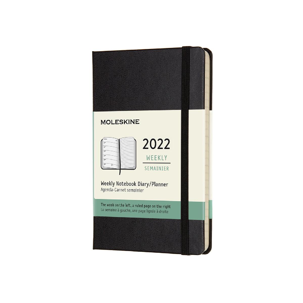 Moleskine Pocket Hard Cover 12 Month Diary 2022