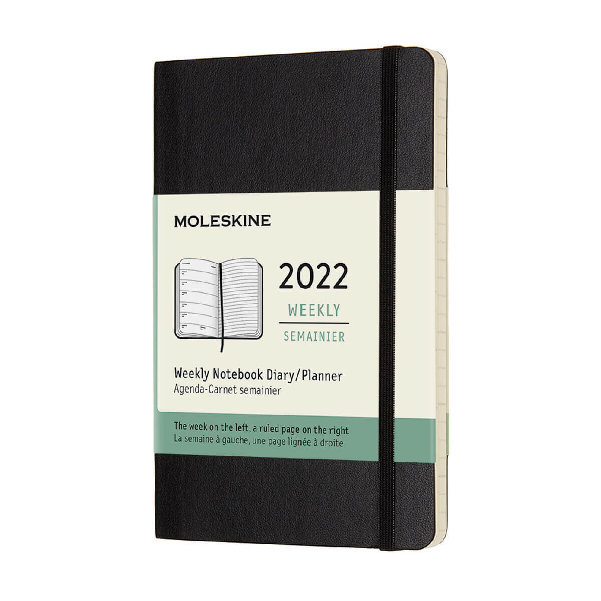 Moleskine Pocket Soft Cover 12 Month Diary 2022