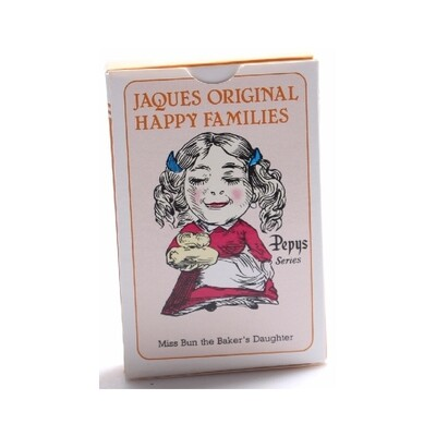 Jacques Happy Families Card Game