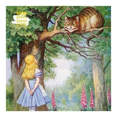 Adult Jigsaw Puzzle Alice and the Cheshire Cat
