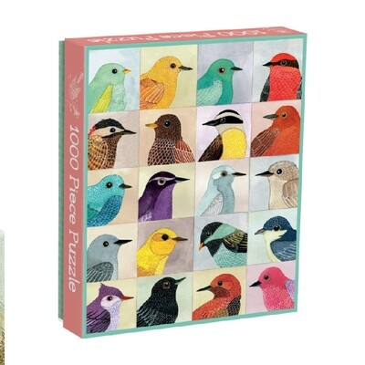 Chronicle Books Avian Friends 1000 Piece Puzzle