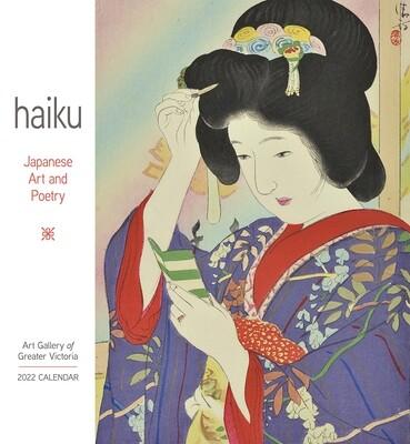 Haiku: Japanese Art and Poetry 2022 Wall Calendar