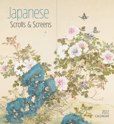 Japanese Scrolls & Screens 2022 Wall Calendar