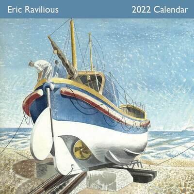 The Art of Eric Ravilious 2022 Wall Calendar