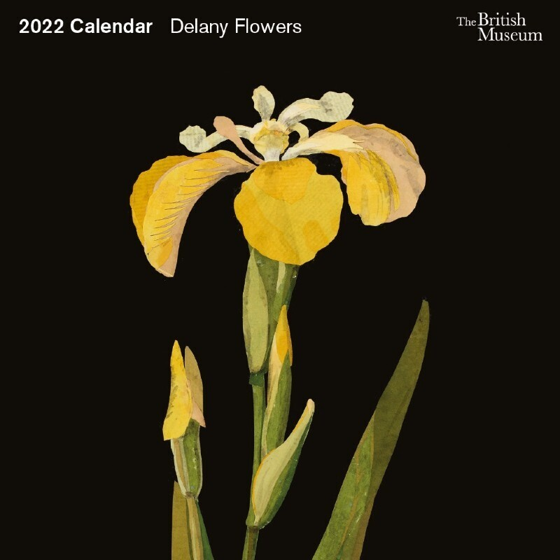 Delany Flowers 2022 Wall Calendar