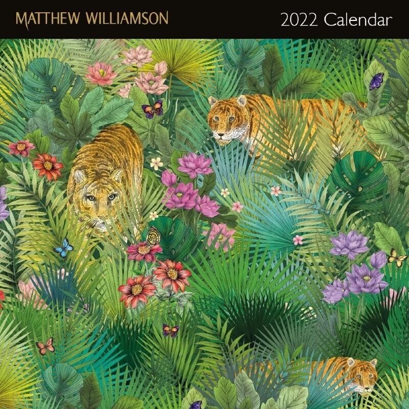 Matthew Williamson 2022 Wall Calendar