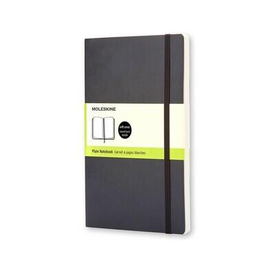 Moleskine Notebook Black Pocket Plain Soft Cover