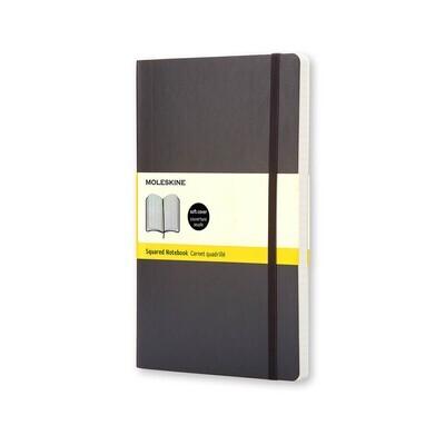 Moleskine Notebook Black Pocket Squared Soft Cover