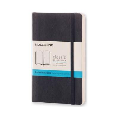 Moleskine Notebook Black Pocket Dotted Soft Cover