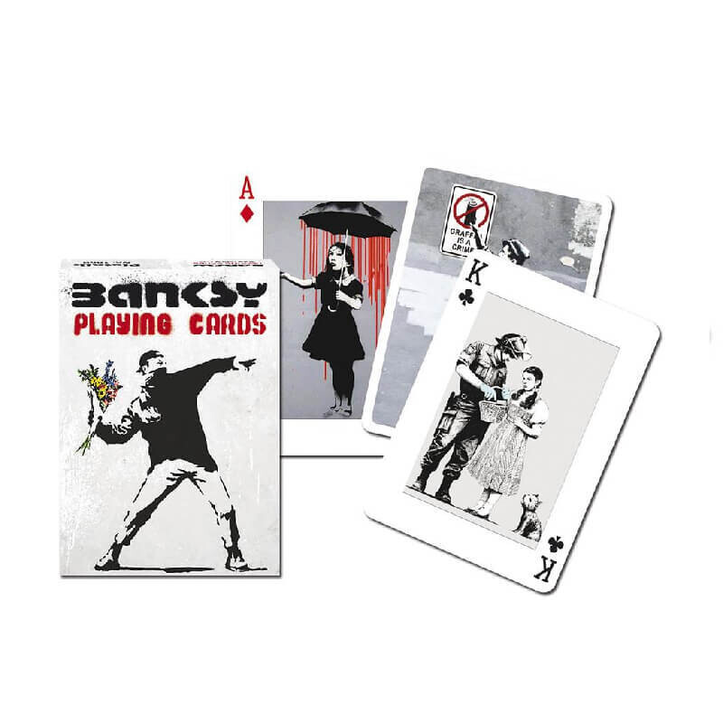 Banksy Playing Cards