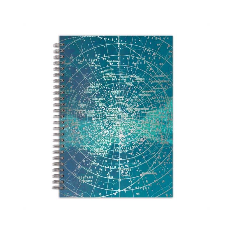 """Constellation Grid 7 x 10"""" Wire-O Journal"""