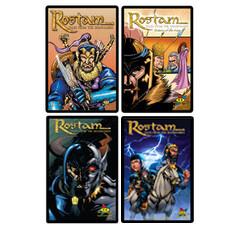 4 Pack: Rostam Books 1,2,3,4