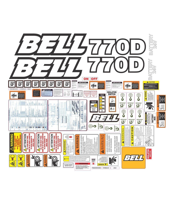Bell 770D Motor Grader