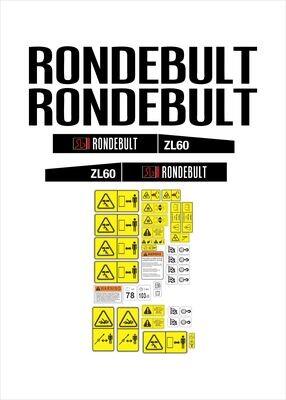 Rondebult ZL60 Loader