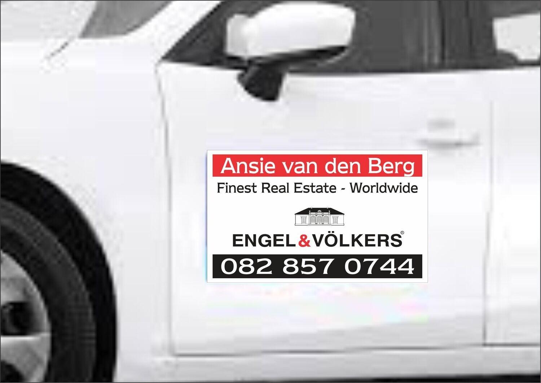 Engel & Volkers Vehicle Magnetic Sticker (Set 2)