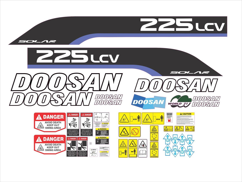 Doosan 225 LCV