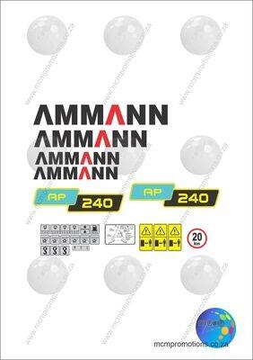 Ammann AP 240 Tier 3 Pneumatic Tyred Roller