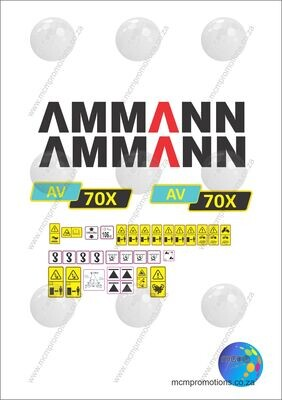 Ammann AV 70 X Tandem Vibration Roller