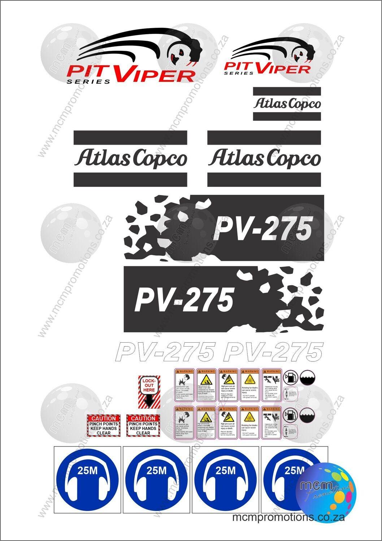 Atlas Copco PIT VIPER PV275