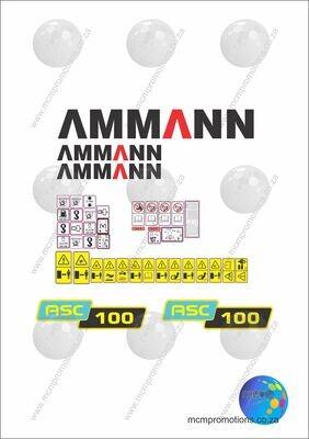 Ammann ACS 100  Tier3 Soil Compactor