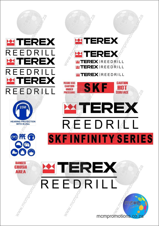 Terex Reedrill SKF Infinity Series