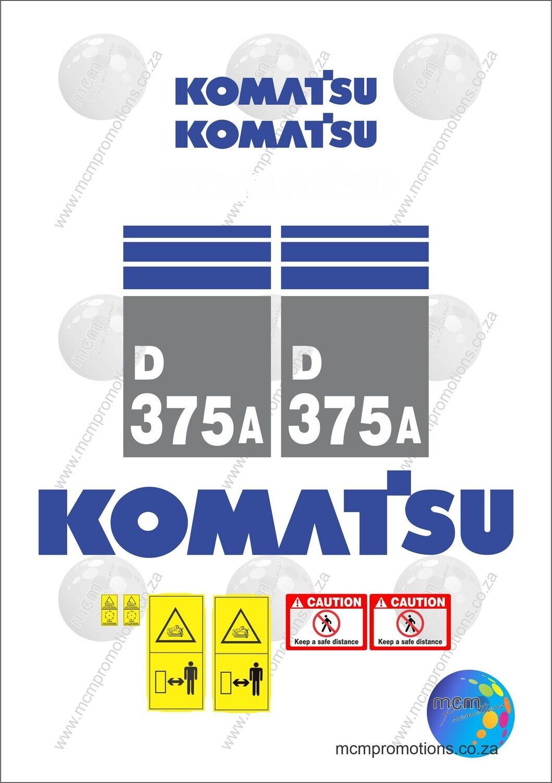 Komatsu D375A-5