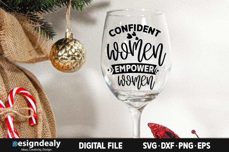 Confident women empower women