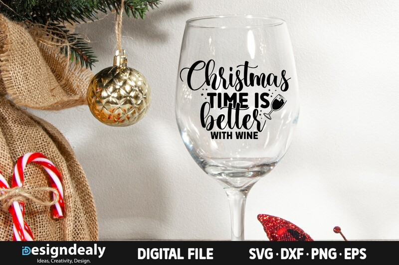 Christmas time is better with wine