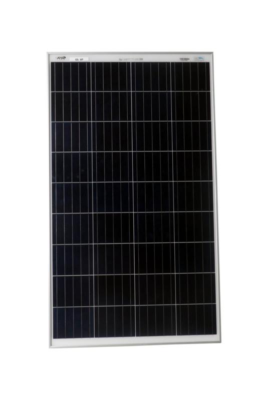 BIS Certified Polycrystlelline Modules 125 Watt 36 Cell Solar Panel