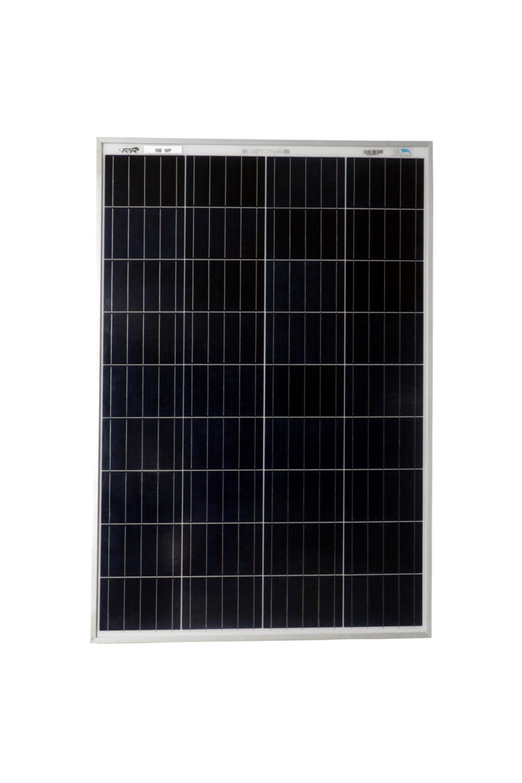 BIS Certified Polycrystlelline Modules 100 Watt 36 Cell Solar Panel