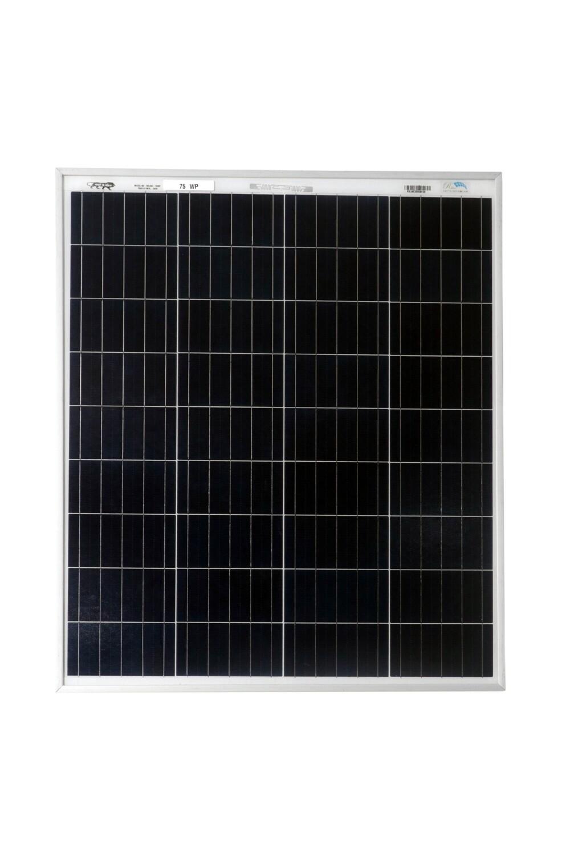 BIS Certified Polycrystlelline Modules 75 Watt 36 Cell Solar Panel