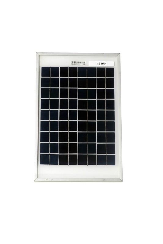BIS Certified Polycrystalline Modules 10 Watt 36 Cell Solar Panel