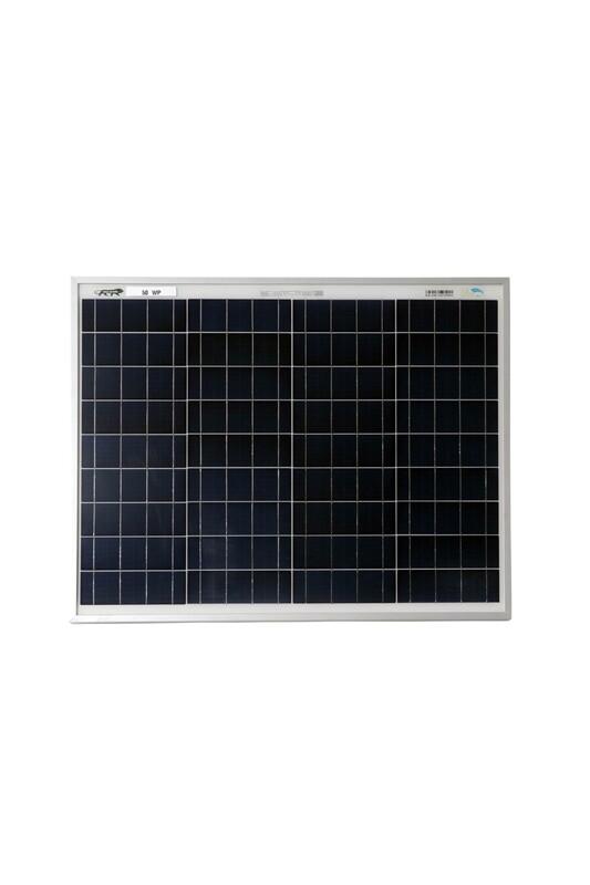BIS Certified polycrystalline Modules 50 Watt 36 Cell Solar Panel