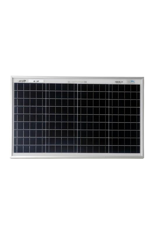BIS Certified Polycrystalline Modules 40 Watt 36 Cell Solar Panel
