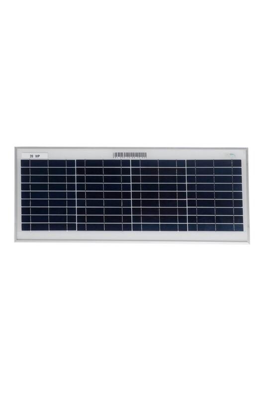 BIS Certified Polycrystalline Modules 20 Watt 36 Cell Solar Panel
