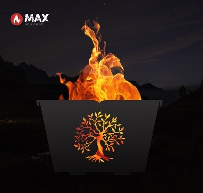 Tree of Life Fire Pit