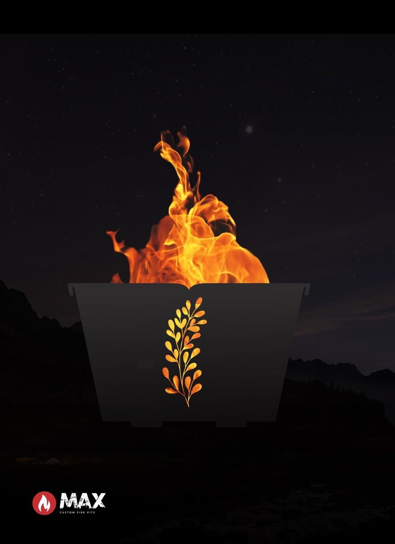 Pretty Leaf Fire Pit
