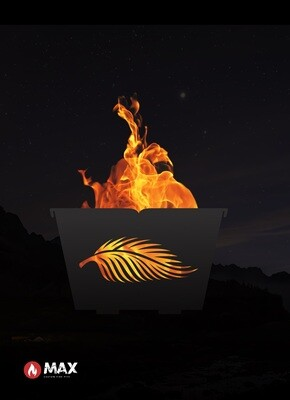 Palm Leaf Fire Pit