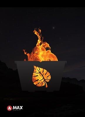 Tropical Leaf Fire Pit