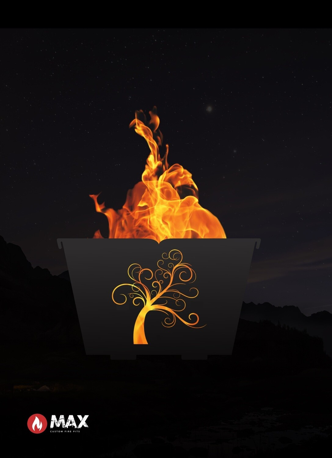 Curly Tree Fire Pit
