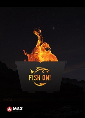 Fish On Fire Pit
