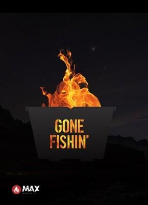 Gone Fishin' Fire Pit