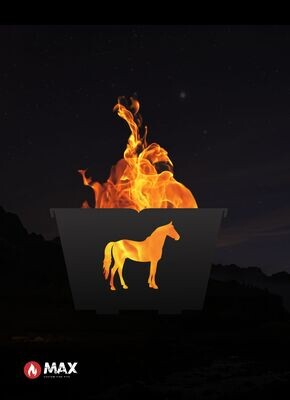 Horse Fire Pit