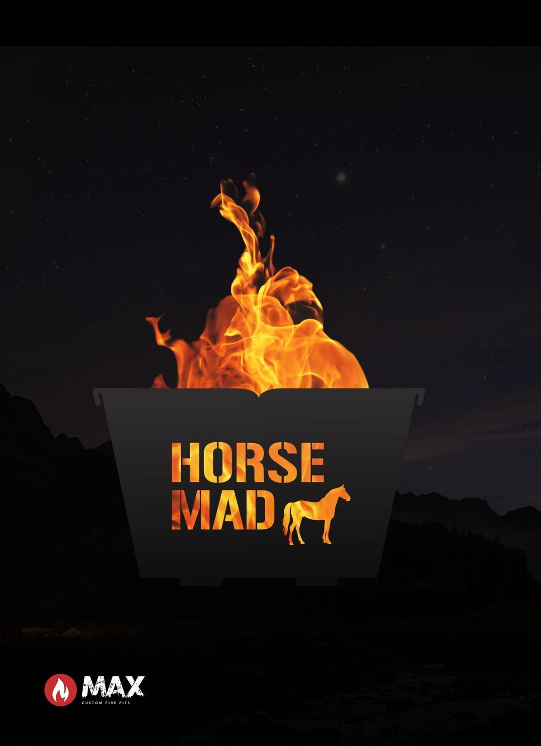 Horse Mad Fire Pit